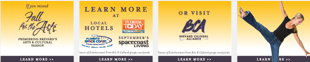 Banner Ad Campaign Development - Fall for the Arts / Brevard Cultural Alliance