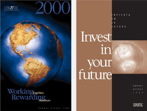 Annual Report 2000 Design / Development - IDB IIC Federal Credit Union