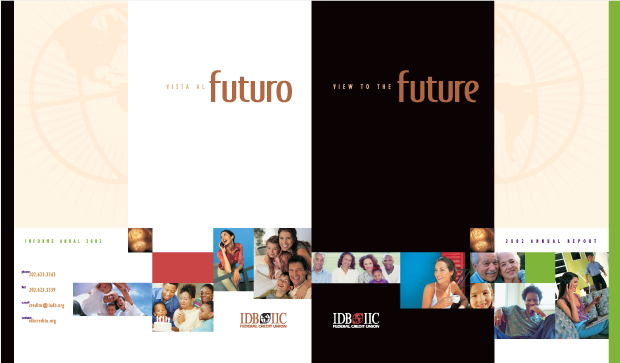 Annual Report 2002 Design / Development - IDB IIC Federal Credit Union