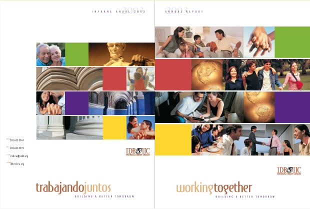 Annual Report 2003 Design / Development - IDB IIC Federal Credit Union