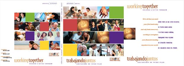 Annual Report CD Rom 2003 Design / Development - IDB IIC Federal Credit Union
