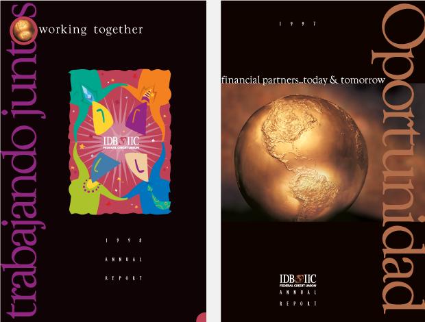 Annual Report 1998-1999 Design / Development - IDB IIC Federal Credit Union