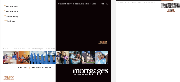 Mortgages Collateral Design / Development - IDB IIC Federal Credit Union