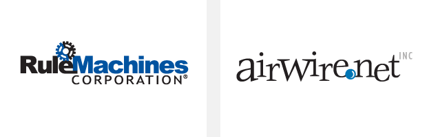 Logo / Brand Design / Development - Rule Machines / Airwire.net