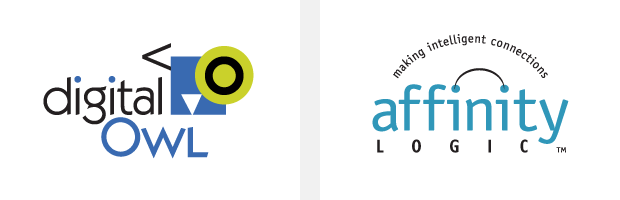 Logo / Brand Design / Development - Digital Owl / Affinity Logic