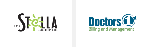Logo / Brand Design / Development - the Stella Group / Doctors Billing