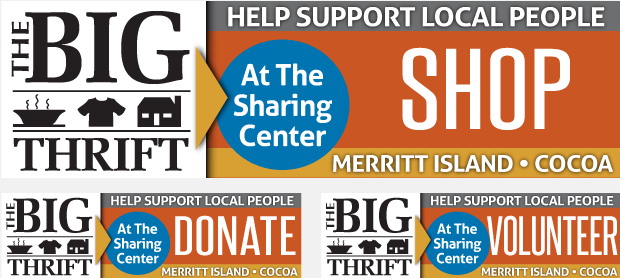 Sharing Center of Central Brevard:  Billboard Campaign Design