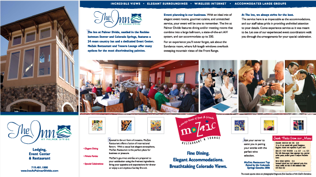 The Inn at Palmer Divide Direct Mail