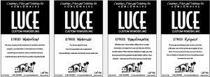 Luce Custom Remodeling Newspaper Ads