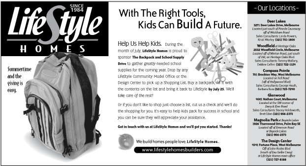 LifeStyle Homes Newspaper ad campaign
