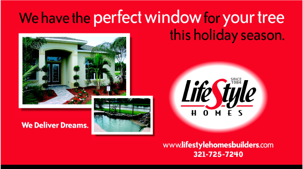LifeStyle Homes theater screen advertising